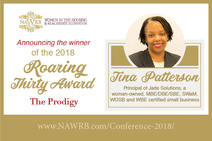 Jade Solutions Principal receives 2018 NWARB Prodigy Award